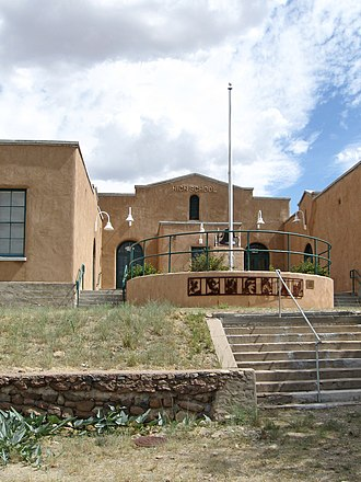 National Register of Historic Places listings in Sierra County, New Mexico - Image: Hillsboro New Mexico Community Center