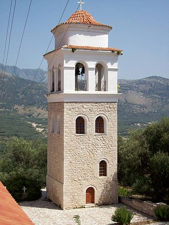 Himara - Bell tower of the Orthodox Church