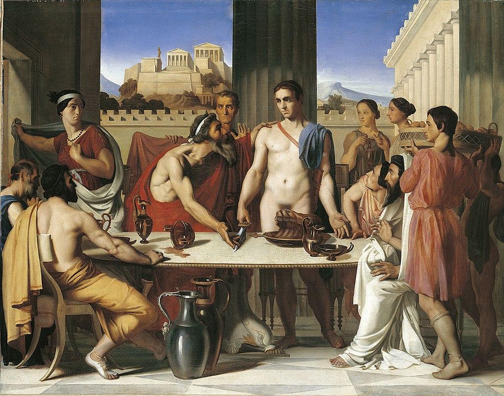 Ипполит Фландрин - Тесей, признанный отцом - 1832.jpg