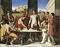 Hippolyte Flandrin - Theseus Recognized by his Father - 1832.jpg