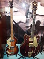 Hofner 500-1 Violin bass & Gretsch Country Gentleman guitar, Museum of Making Music.jpg