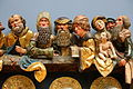 Holy Kinship, Silesia, view 2, c. 1500, beech wood - Bode-Museum - DSC03102.JPG