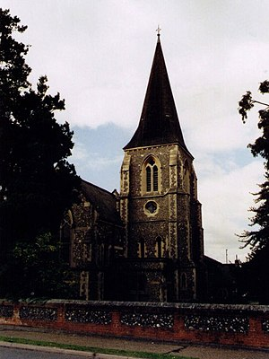 Bracknell - Holy Trinity, built in 1851