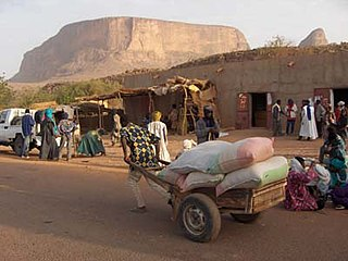 Hombori Commune and town in Mopti Region, Mali