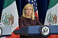 Homeland Security Secretary Nielsen Gives Remarks at the Second U.S.-Mexico Strategic Dialogue on Disrupting Transnational Criminal Organizations (38173563495).jpg