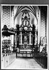 hoofdaltaar en preekstoel, reproductie van foto - grave - 20083741 - rce