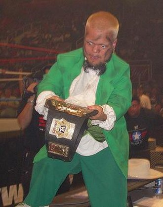 Hornswoggle - Hornswoggle was the final WWE Cruiserweight Champion.