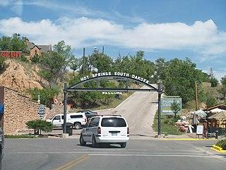 Hot Springs, South Dakota City in South Dakota, United States