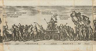 Onofrio Panvinio - Image: Houghton Typ 625.18.672 Amplissimi ornatissimique triumphi, pl 9