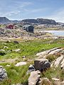 Houses and a lake Kulusuk, Greenland - panoramio.jpg