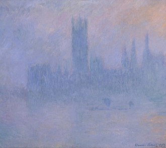 Houses of Parliament (Monet series) - Image: Houses of Parliament in the Fog by Claude Monet, High Museum of Art