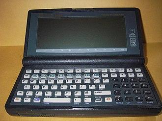 HP 200LX - Case open