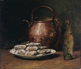 Huîtres et Chablis