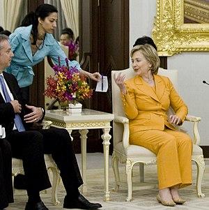 Hillary Clinton email controversy - Huma Abedin and Hillary Clinton