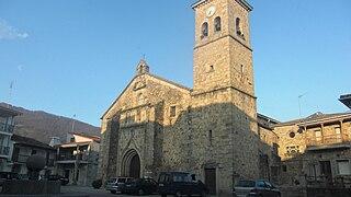 Losar de la Vera municipality in Extremadura, Spain