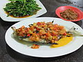 Ikan bakar bumbu tomat Makassar.JPG