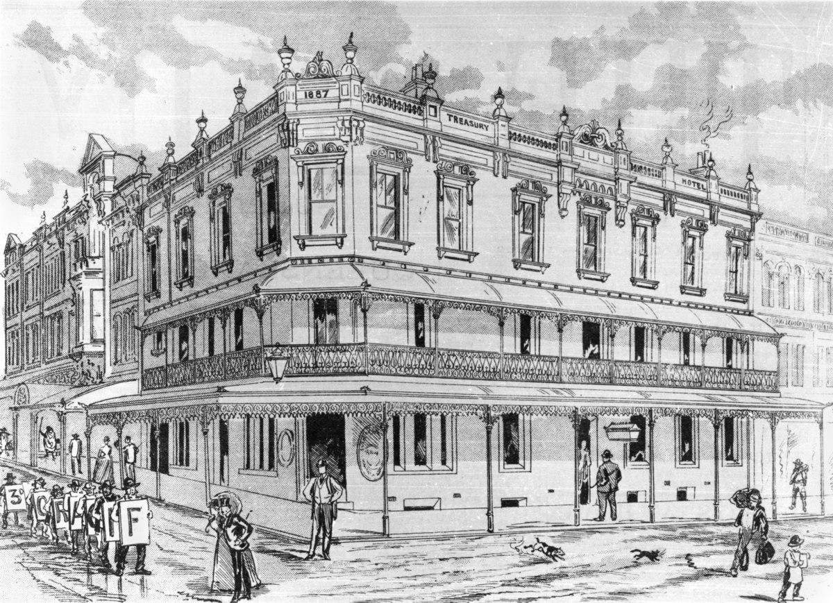 The Treasury Hotel Brisbane