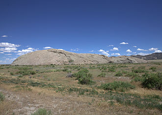 Independence Rock (Wyoming) - Independence Rock in 2015