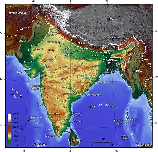 India topo big