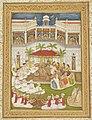 Indian School, late 18th century - The marriage of Krishna and Rukmini. - RCIN 1005113.w - Royal Collection.jpg