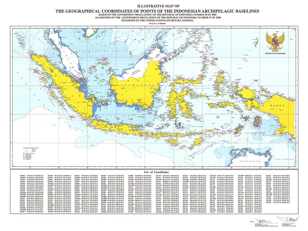 Wawasan Nusantara Wikipedia Bahasa Indonesia Ensiklopedia Bebas