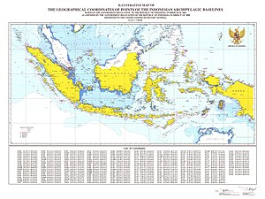 Nusantara - Modern Wawasan Nusantara the Indonesian archipelagic baselines pursuant to article 47, paragraph 9, of the UNCLOS