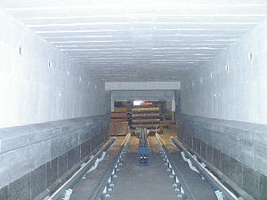 High-temperature insulation wool - Industrial furnace equipped with HTIW modules