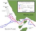 Infiltración del U 47 en Scapa Flow.png