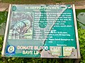 Info Board of Hippopotamus in Indira Gandhi Zoological park.jpg