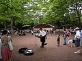 Inokashira Park Street performance - panoramio.jpg