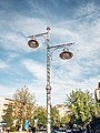 Interesting looking street lamps in a small town (51168340595).jpg
