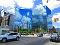 Interesting reflection on the Hydro building, SE corner of University and College, 2017 06 01 -c (34879296202).jpg