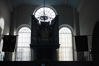 Kirk of the Canongate - Interior, including organ, Canongate Kirk