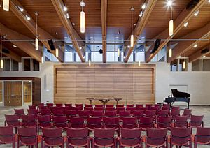 Chicago Theological Seminary - New Chapel elevation