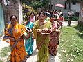 Inviting Goddess Ganga - Hindu Sacred Thread Ceremony - Simurali 2009-04-05 4050050.JPG