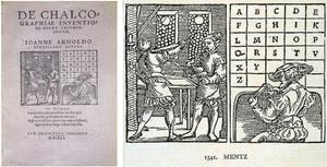 De chalcographiae inventione poema ecomiasticum.