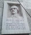Irinyi József emléktáblája, Budapest, XI., Irinyi József utca 47..png