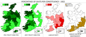 Irish general election, 1922 - Image: Irish general election 1922