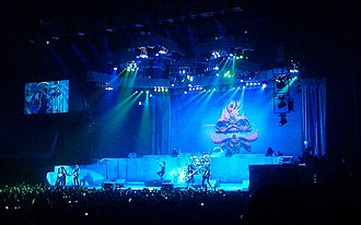 "Maiden England World Tour - Iron Maiden performing ""The Clairvoyant"" in London, which was amongst the songs which featured on the original Maiden England video."