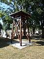 Irsa Lutheran Cemetery, belfry, 2020 Albertirsa.jpg