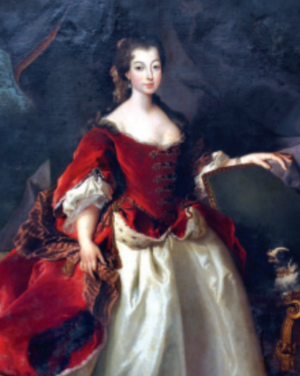Isabel Luísa, Princess of Beira - Portrait of Infanta Isabel Luísa by Duprà, 1725