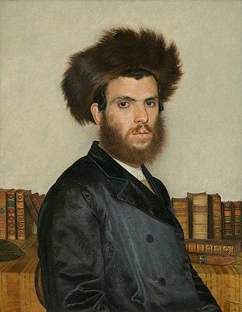 Isidor Kaufmann - The Kabbalist (c. 1910-20).jpg