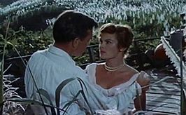 James Mason en Patricia Owens in Island in the Sun