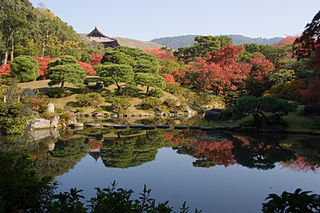 Isui-en Meiji era garden in Nara, Japan