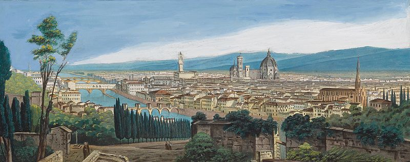 File:Italien 19Jh Panorama Florenz.jpg