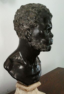 Italy Bust of a black man 02