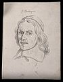 J. Clauberquis; portrait. Drawing, c. 1793. Wellcome V0009252ER.jpg
