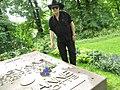 Jacob Truedson Demitz at Sigvard Bernadotte grave 2016.jpg