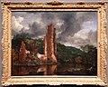 Jacob van ruysdael, paesaggio con le rovine del castello di egmond, 1650-55 ca.jpg