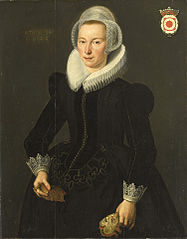 Portrait of Grietje Adriaensdr Grootes (1588-1624)